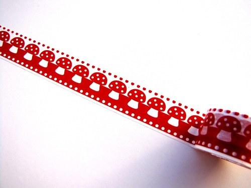 Páska: Muchomůrky (3 x 33 cm)