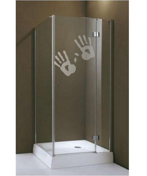 (521g) Nálepka na sprchovací kút