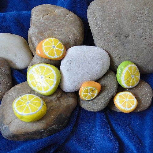 Citrony a pomeranče