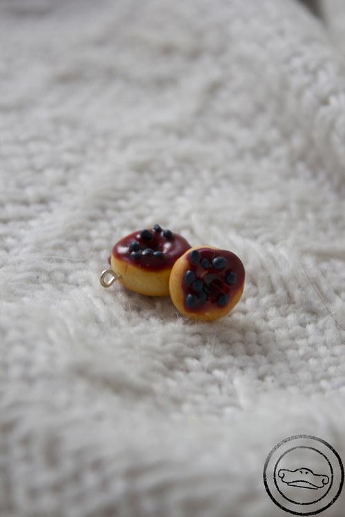 Borůvkové donuty
