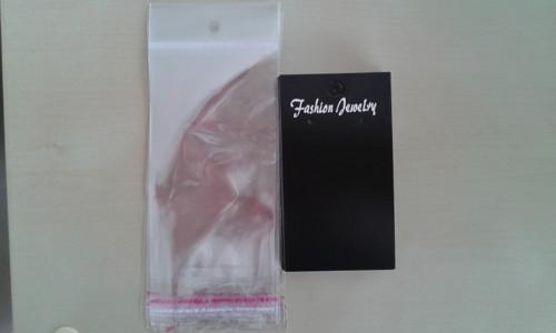 Kartičky s obalem černé - 20 ks