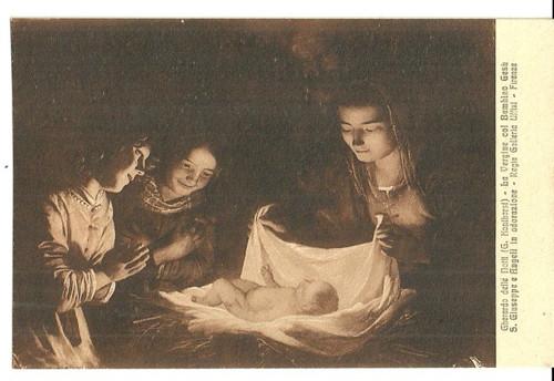 Umělecká pohlednice G.Konihorst