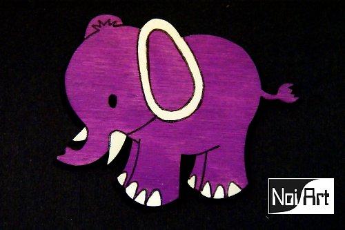Sloník fialový
