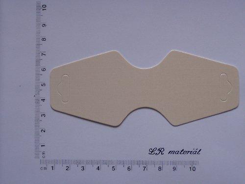 Bižuterní karta - závěska - 5 ks