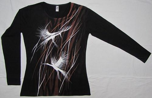Ptáci v trávě - dlouhý rukáv
