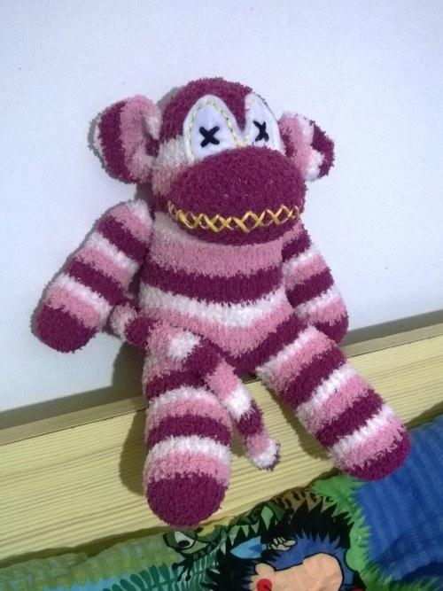 Ponožková opička Violeta Fuseklová