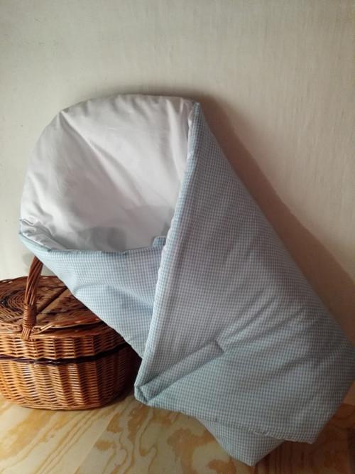 Zavinovačka - modré pepitko