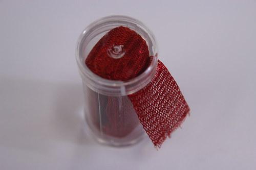 Drátěná dutinka 18-20mm, červená - 1m
