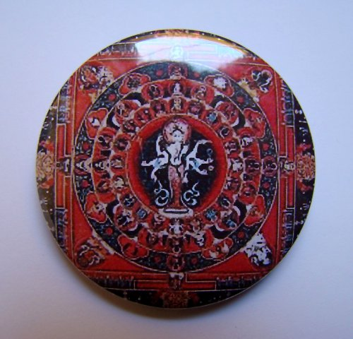 MANDALA 7 - placka - button - 44 mm