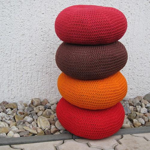 Sedák střední velikost - Tlumeněčervený