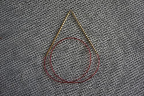 Addi Lace - Kruhové jehlice 2,5 mm 80 cm