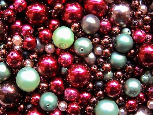 Voskové perle - višně v čokoládě