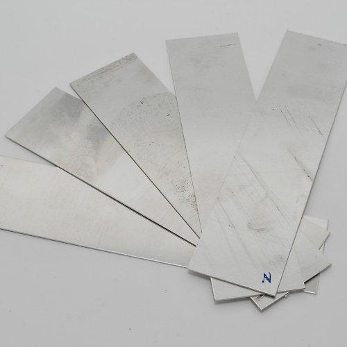 Sada výztuh pro náramek II / 5 ks (široká-krátká)