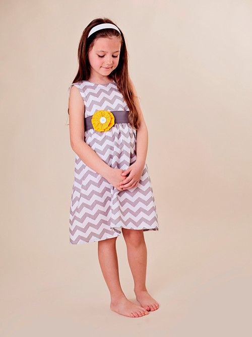 šaty Chevronka