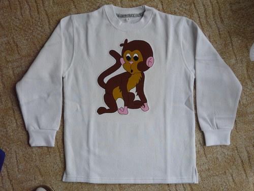 Mikina s opičkou - ! SLEVA !
