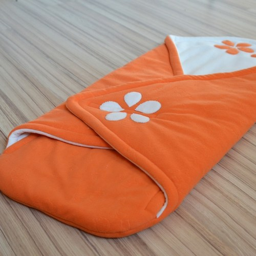 Fusáček do kočárku - oranžový