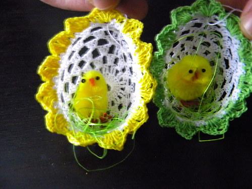Kuře ve vejci
