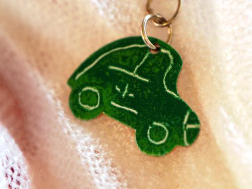 autíčko (třeba) na klíče