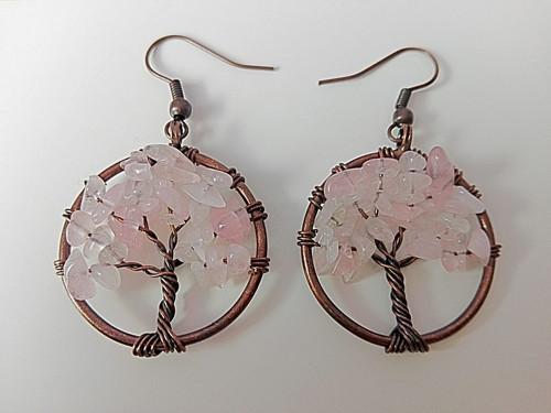 Náušnice Růženín, Strom života