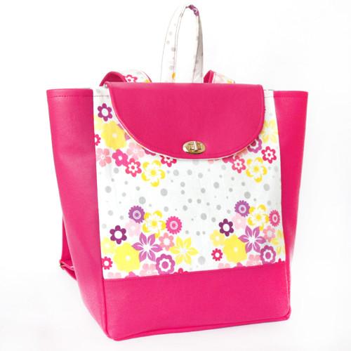 Městský batoh Wendy - růžový