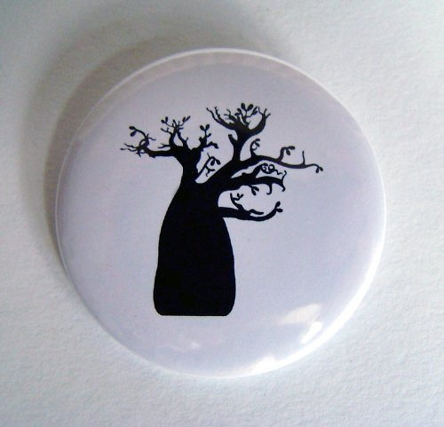 ..BAOBAB.. - placka - button - 44 mm