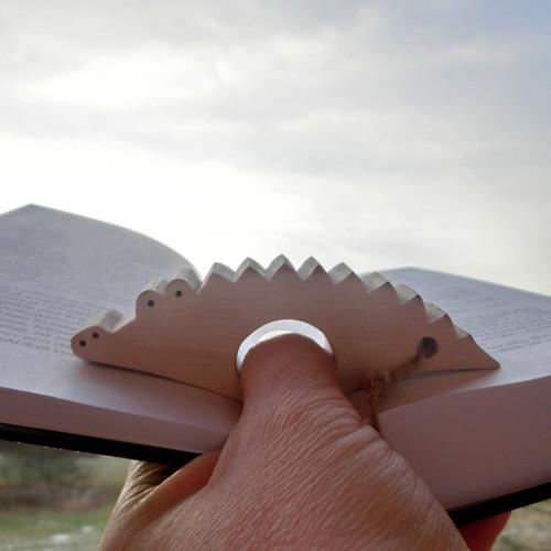 Záložka palcovka - krokodýl