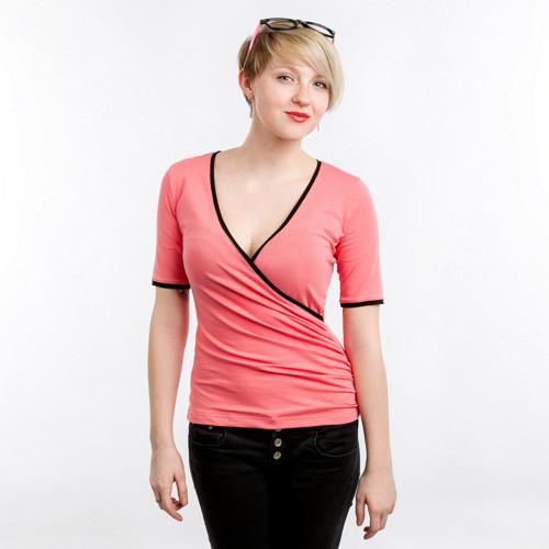 Růžové tričko Lucie