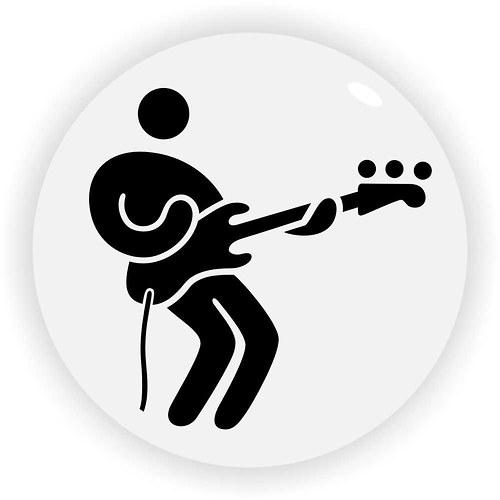 Slapující baskytarista