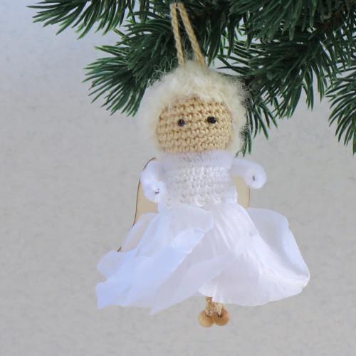 Vianočný sukničkový anjelík