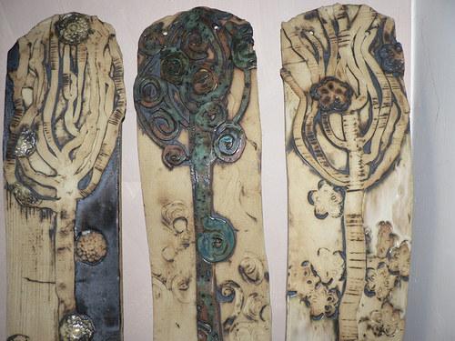 """Velký triptych \""""Stromoví\"""""""