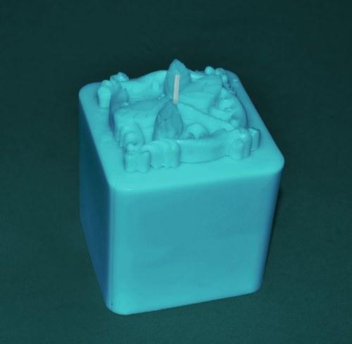 Forma na svíčky Vážka kostka výška 10cm