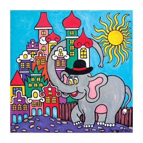 Magnetka - Chudák slon ve městě