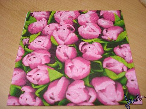 Ubrousky tulipány