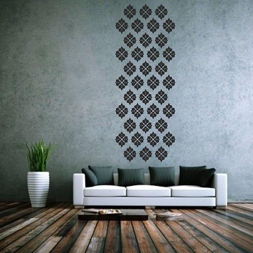Ornamenty - samolepky na zeď (077)