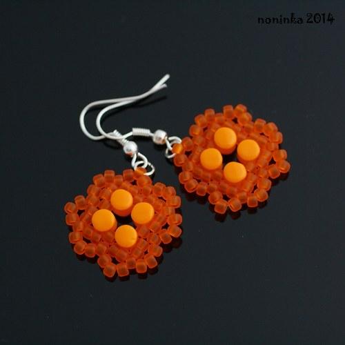 Oranžové pelletky