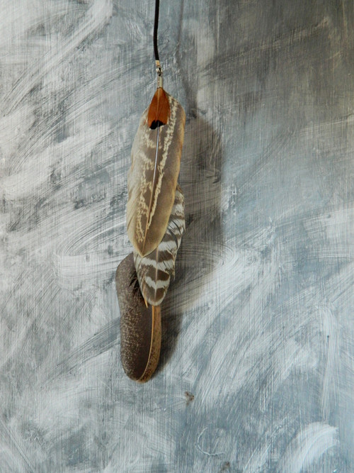 peříčkový clip (sponka) do vlasů 25 cm
