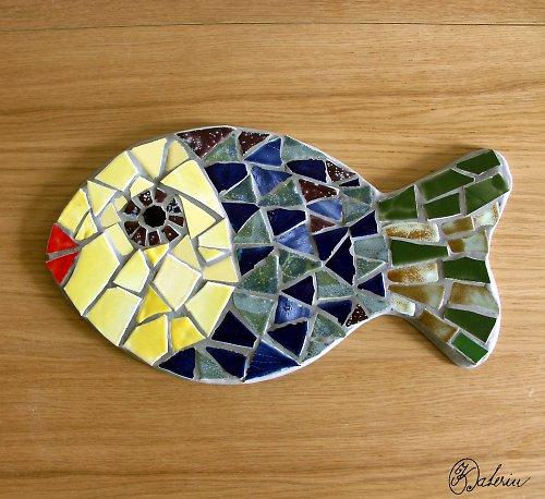 """Mozaika \""""Třeboňský kapřík\"""""""