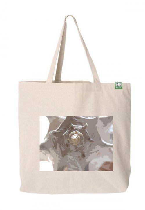 Velká designová taška přes rameno ,,Shell,,