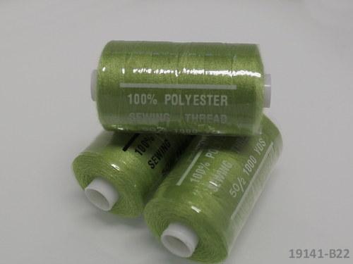 19141-B22 Nitě polyesterové 40/2 1000y LIMETKA