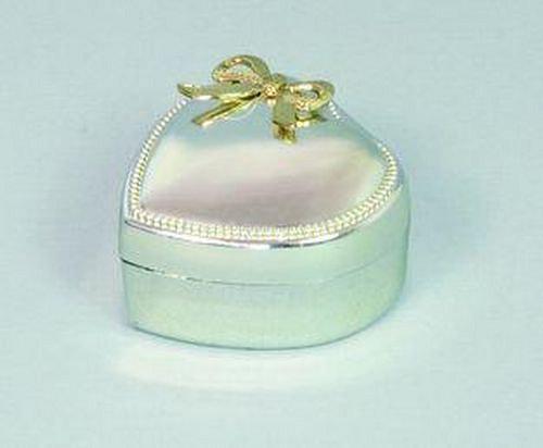 Stříbrné srdíčko - krabička na šperky