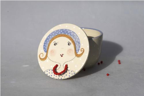 Malá parádnice - šperkovnička