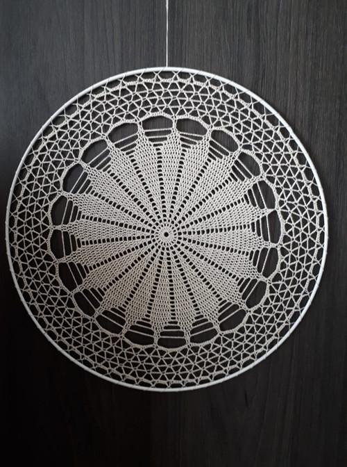 Háčkovaná mandala