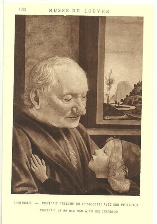 Umělecká pohlednice Ghirlandajo