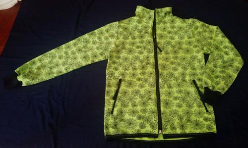 Mikina - Pavoučí muž v zelené