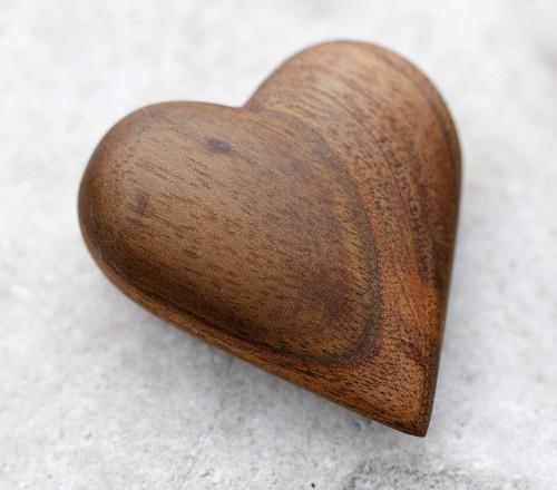 Oříškové srdce