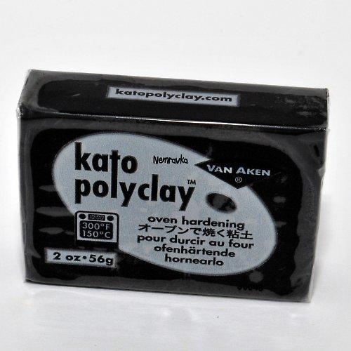 Kato Polyclay / profi polymerová hmota / Černá