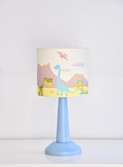 Stínítko dětské Dino 20 cm - stolní/stropní
