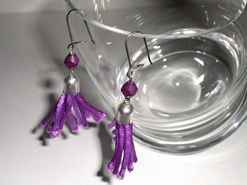 fialoví střapečci