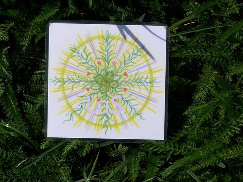 Dávání - mandala 9 x 9 cm