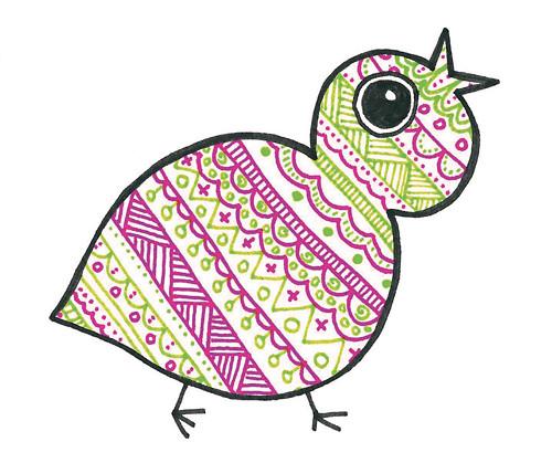 Přáníčko ptáček